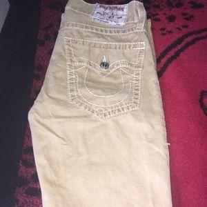 True Religion men's khaki pants